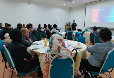 The training session conducted at Sarawak Skills.