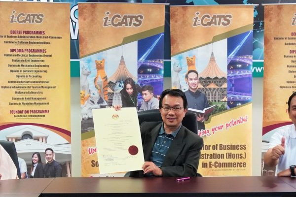 i-CATS Elevated to a University College